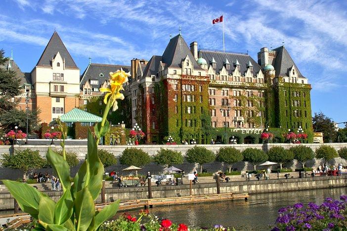Victoria Canadá. Foto: www.blog.encontresuaviagem.com.br