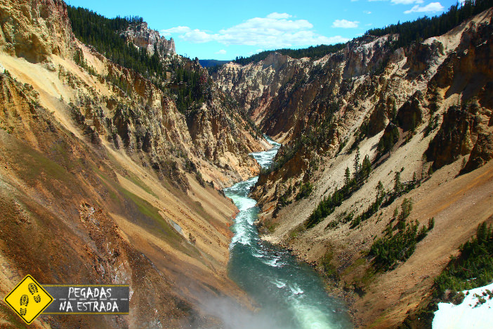 Grand Canyon Yellowstone National Park viagem estados unidos
