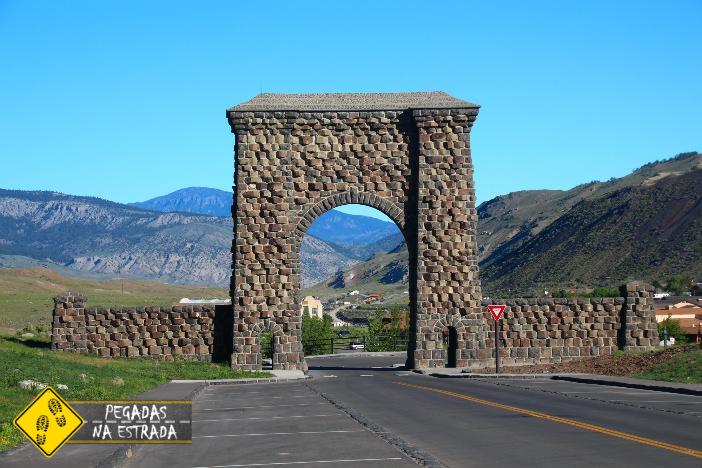 Gardiner, próximo à entrada norte de Yellowstone. Foto: CFR / Blog Pegadas na Estrada