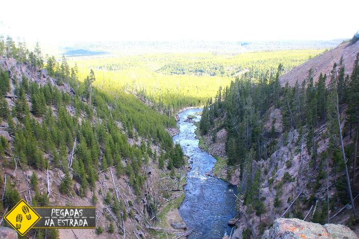 Rio Gibbon, Yellowstone. Foto: CFR / Blog Pegadas na Estrada