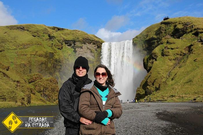 Skogafoss, Islândia. Foto: CFR / Blog Pegadas na Estrada