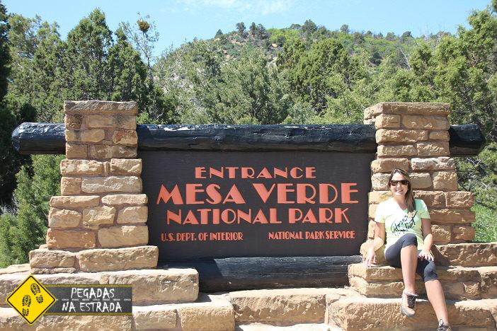 Entrada do Mesa Verde National Park. Foto: RMA / Blog Pegadas na Estrada