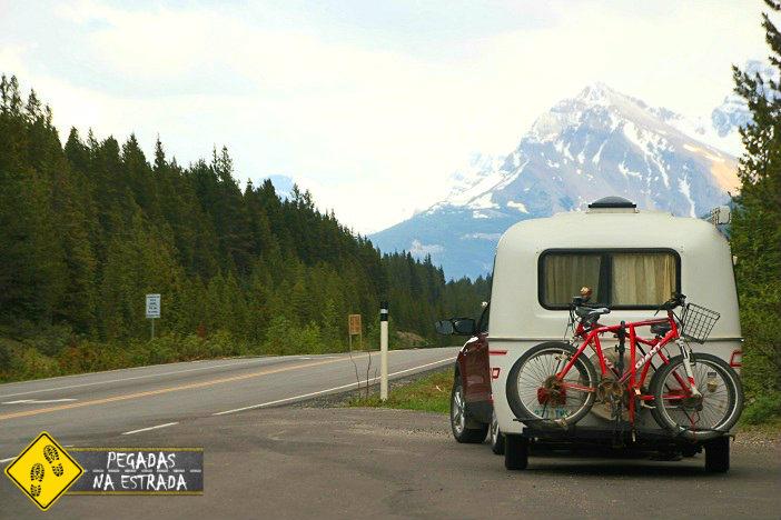 Icefields Parkway, Jasper. Foto: CFR / Blog Pegadas na Estrada