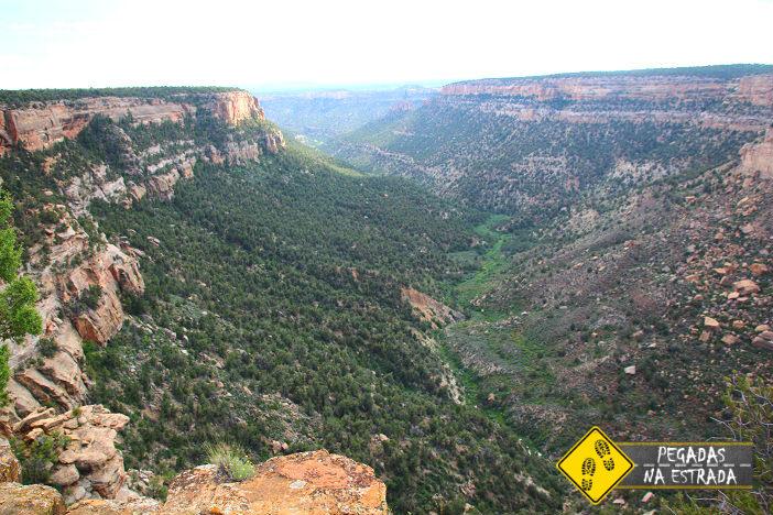 Navajo Canyon View, Mesa Verde National Park. Foto: CFR / Blog Pegadas na Estrada