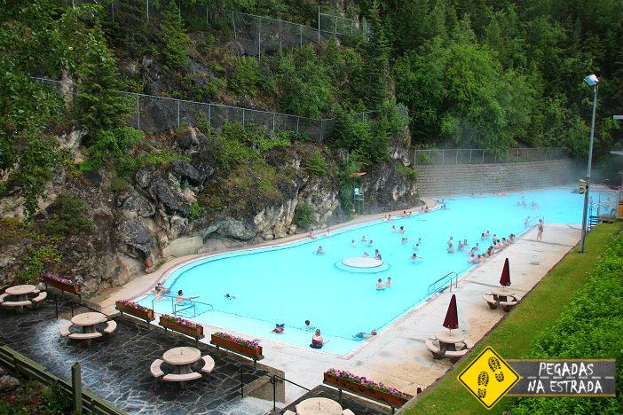 Radium Hot Pools Kootenay National Park