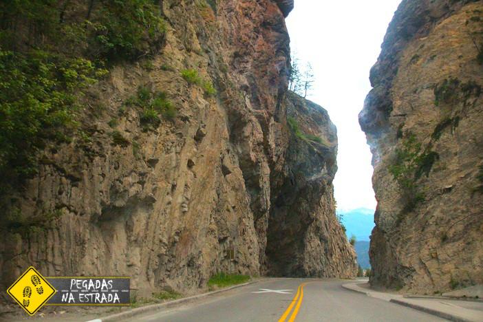 Sinclair Canyon Kootenay National Park