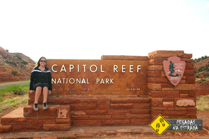 Entrada do Capitol Reef National Park. Foto: RMA / Blog Pegadas na Estrada