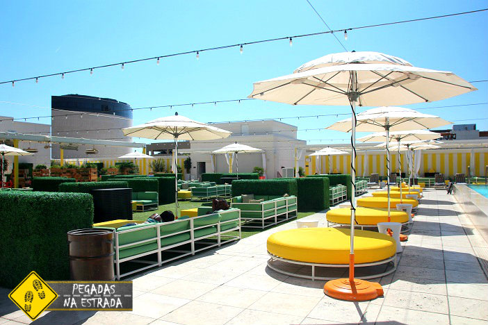 Área de lazer do hotel. Foto: CFR / Blog Pegadas na Estrada