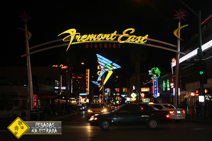 Fremont East, Las Vegas. Foto: CFR / Blog Pegadas na Estrada