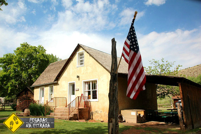 Historic Gilford House Fruita Capitol Reef Sudoeste americano