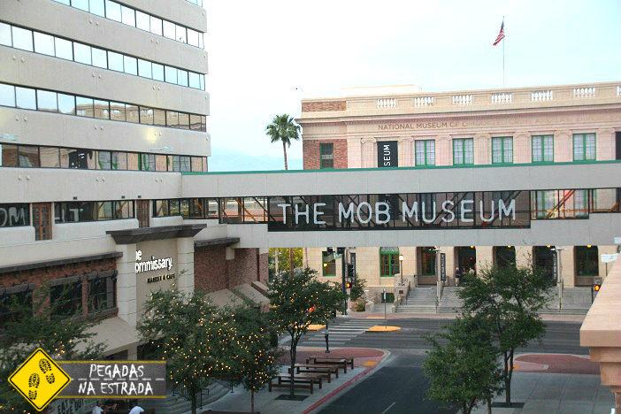 Mob Museu em Las Vegas. Foto: CFR / Blog Pegadas na Estrada