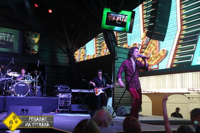 Show gratuito na Fremont Street. Foto: CFR / Blog Pegadas na Estrada