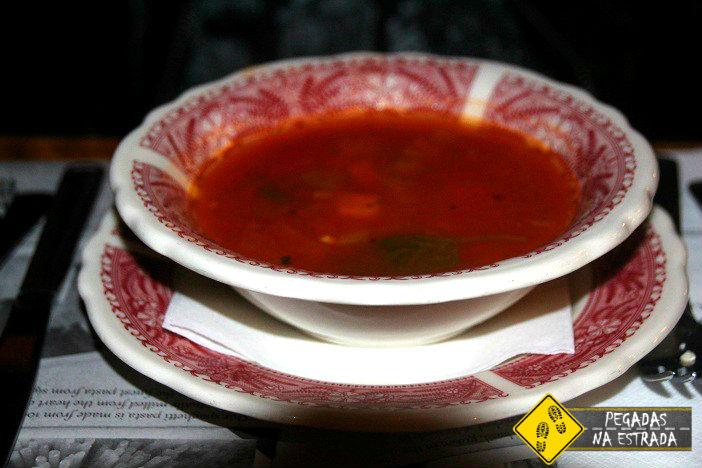 Restaurante em Whistler Minestrone Soup Old Spaghetti Factory