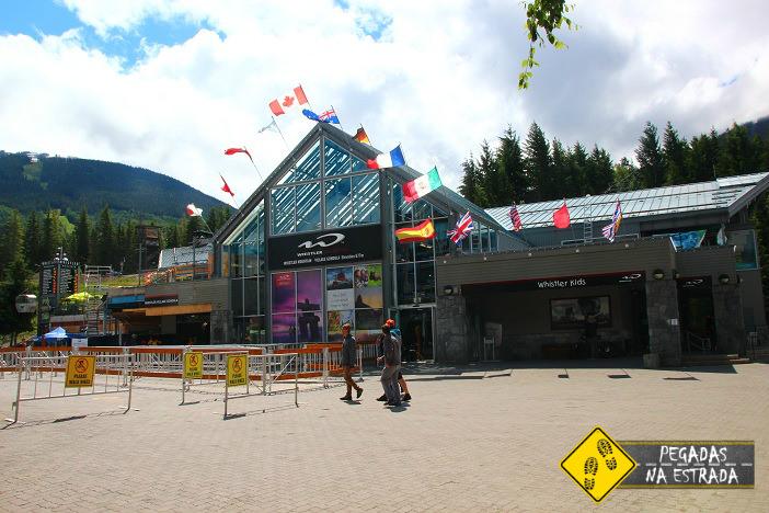 Entrada do Peak 2 Peak. Foto: CFR / Blog Pegadas na Estrada