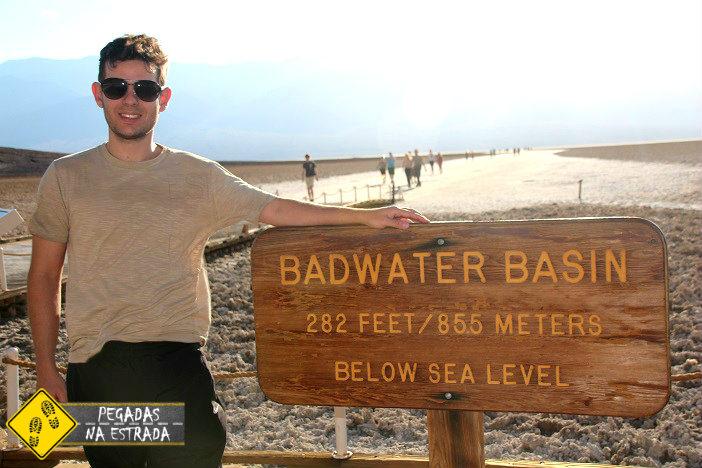Badwater Vale da Morte Califórnia
