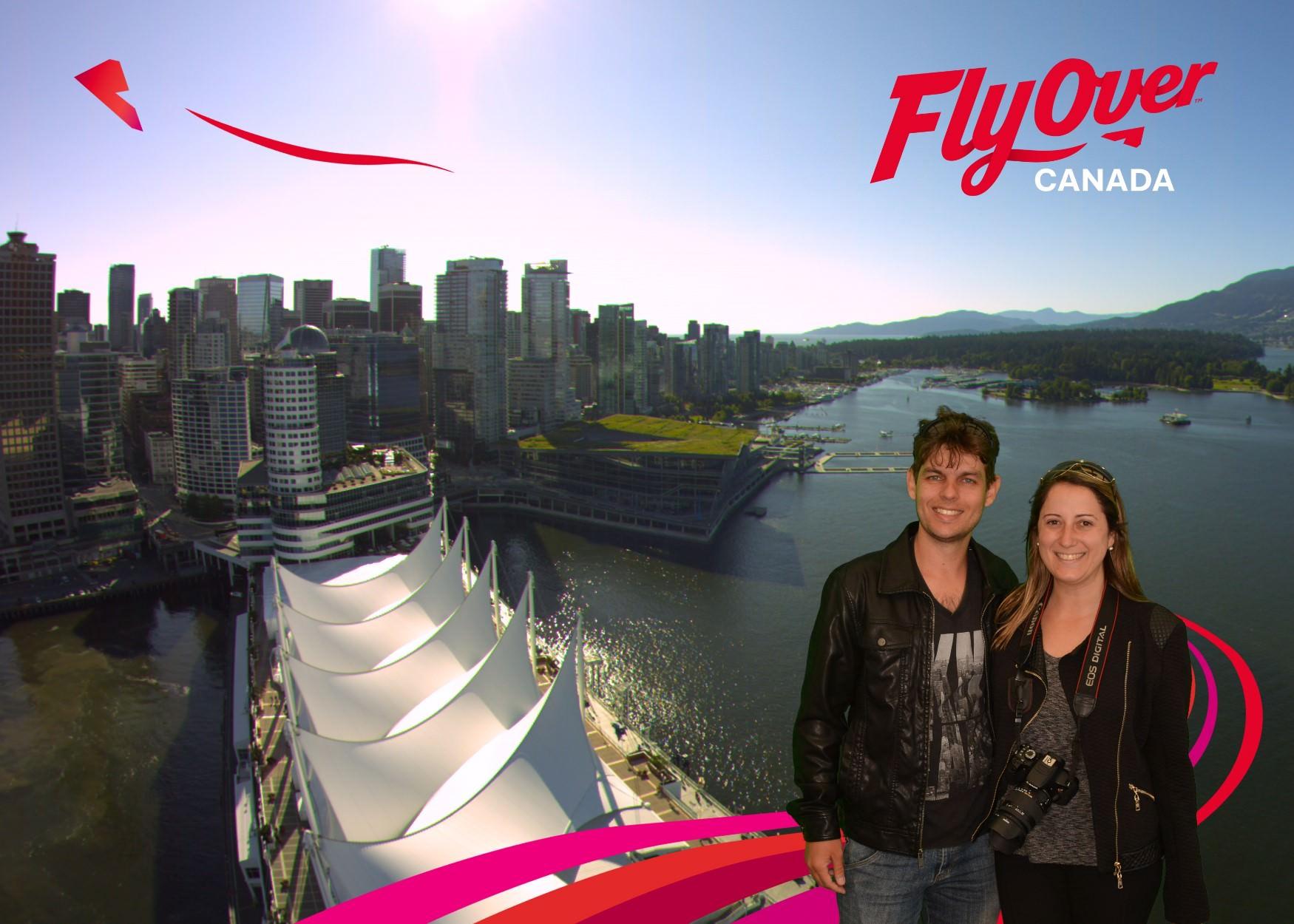 FlyOver, Canadá o que fazer roteiro