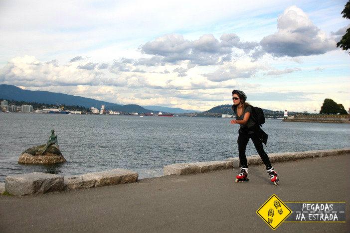 Girl in Wetsuit Stanley Park