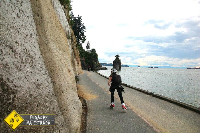 Seawall patins rollerblade stanley park vancouver