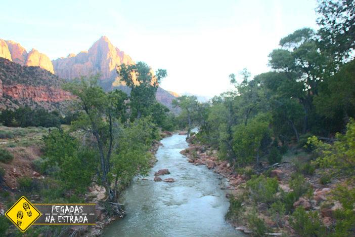Pa'rus Trail, Zion National Park. Foto: CFR / Blog Pegadas na Estrada