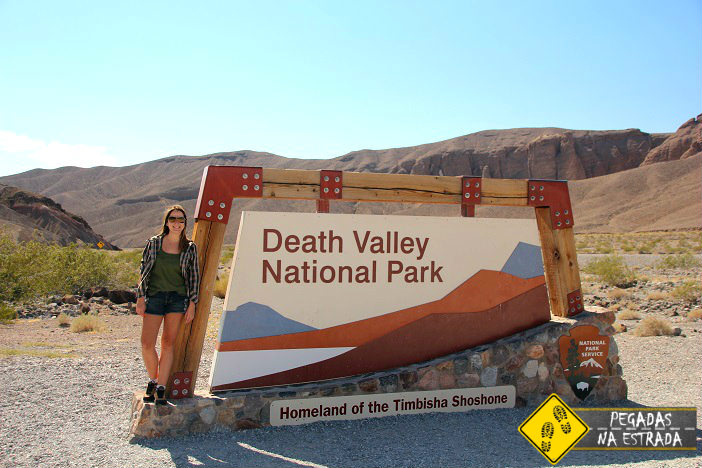 Entrada do Death Valley National Park. Foto: RMA / Blog Pegadas na Estrada