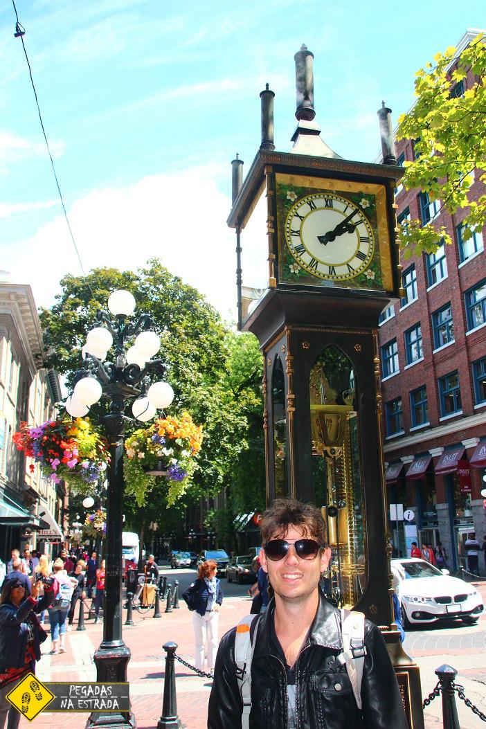Relógio a vapor Gastown Vancouver