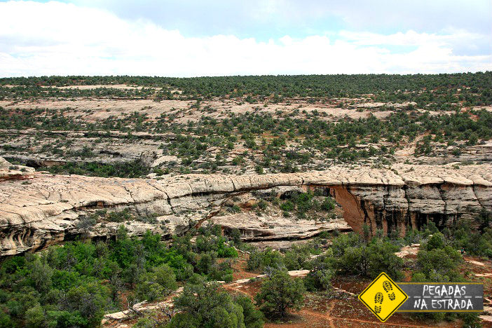 Owachomo Bridge Viewpoint, Utah Natural Bridges
