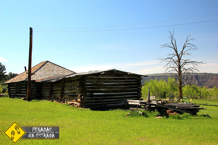 Swett Ranch Historic Site West Utah USA