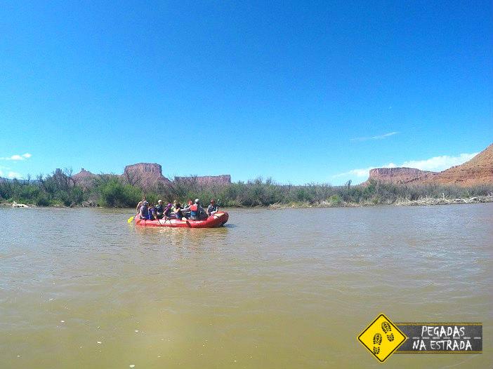 Rafting no Rio Colorado, Utah