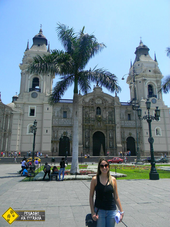 Catedral Plaza Armas Lima