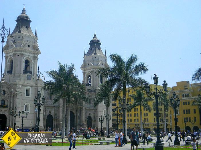 Plaza Armas Lima Peru