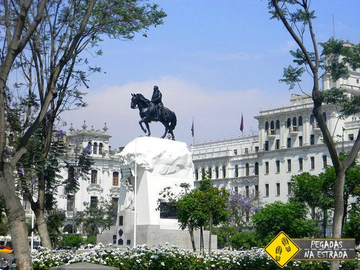 Centro histórico roteiro Lima Peru