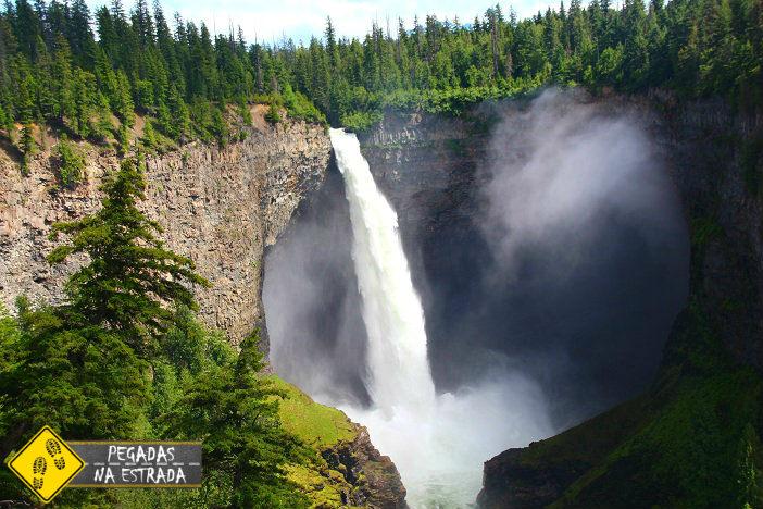 Canada Montanhas Rochosas Cachoeira