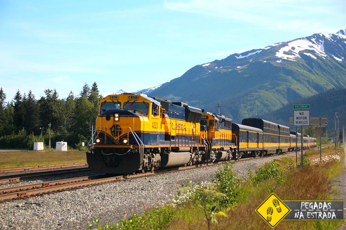 trem Anchorage Seward Alasca