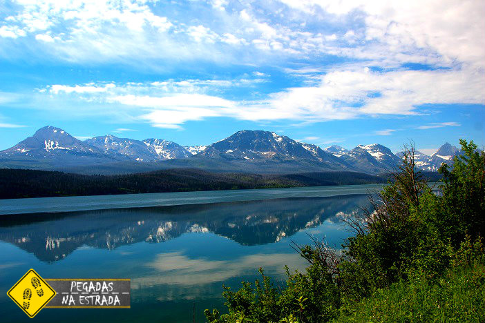 Glacier National Park, Lake Saint Mary oeste americano