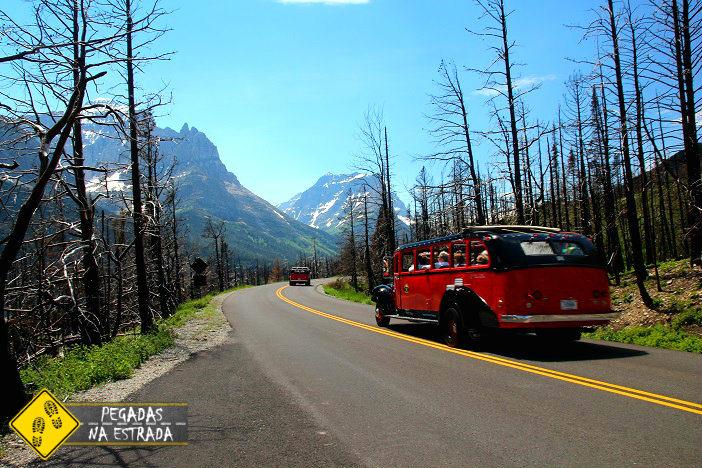 o que fazer no Glacier National Park