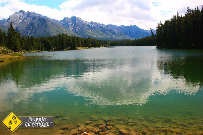 Johnson Lake Banff Aberta