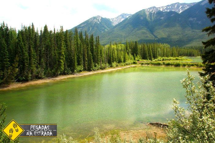 Vermilion Lakes Drive Alberta