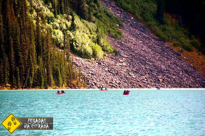 kayak Lake Louise Banff National Park