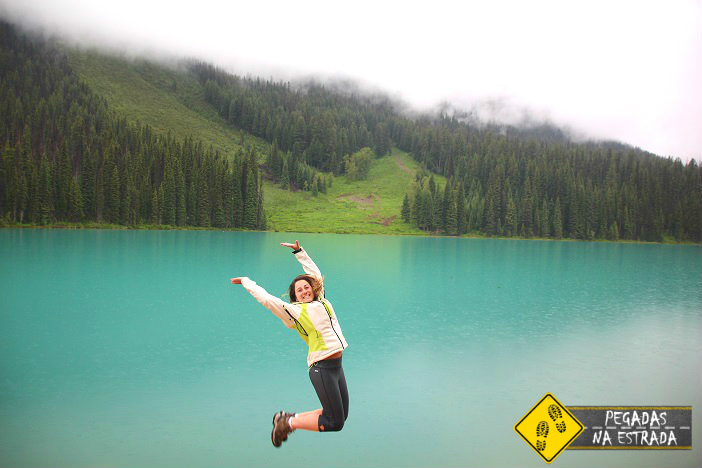 Montanhas rochosas canadenses road trip