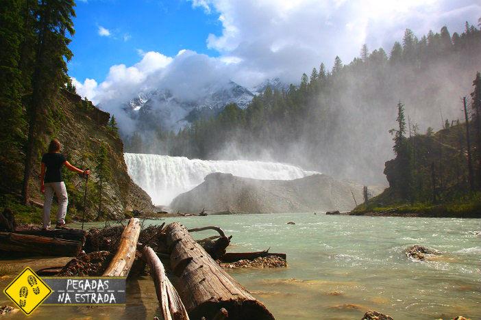 Wapta Falls Yoho National Park