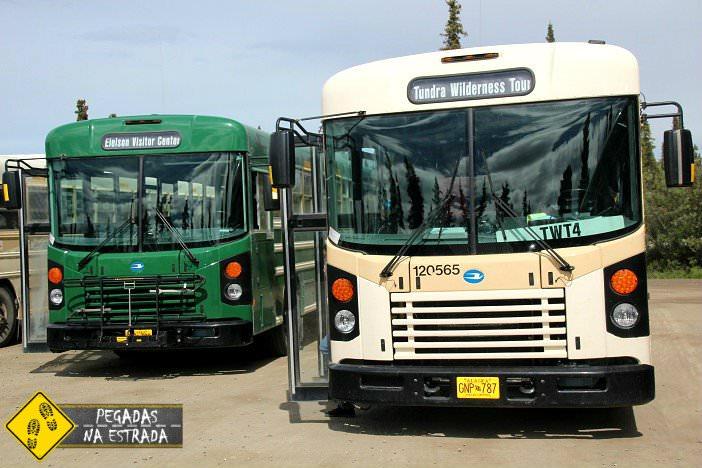 shuttle system Denali National Park tour