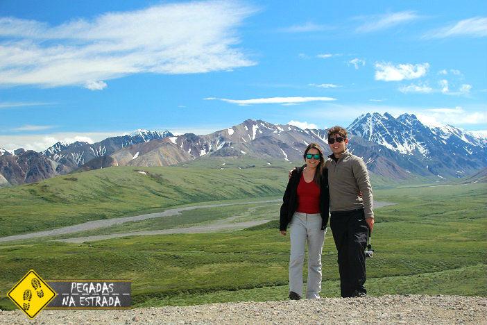 E assim terminamos o nosso passeio no Denali Até a próxima! Foto: Blog Pegadas na Estrada