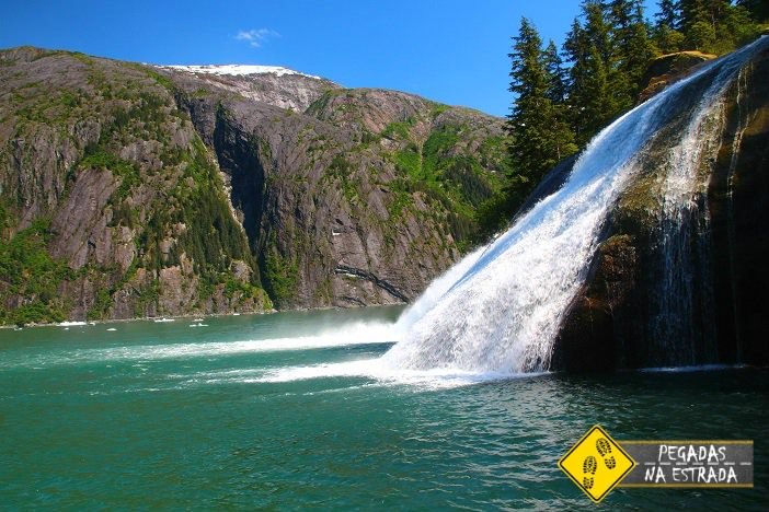 Cachoeira Tracy Arm Fjord