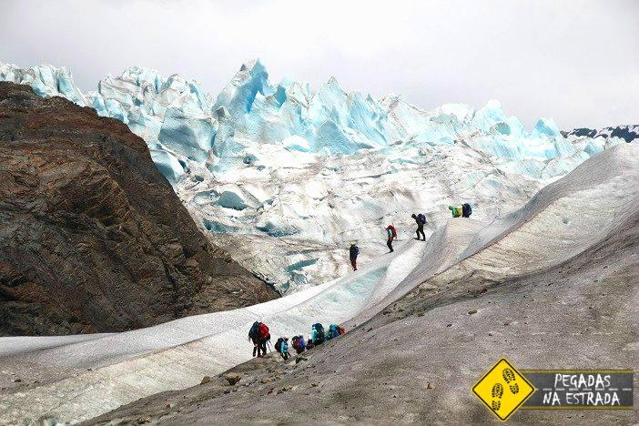 Ice trekking Mendenhall Juneau