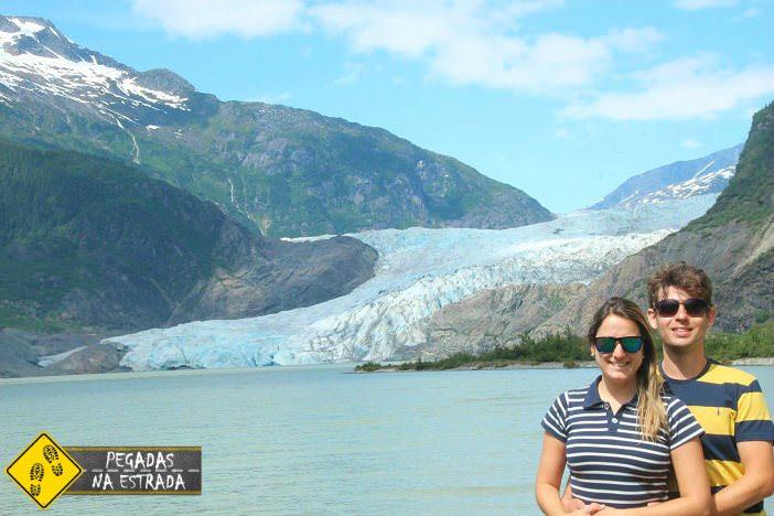 East Mendenhall Glacier Alasca Juneau