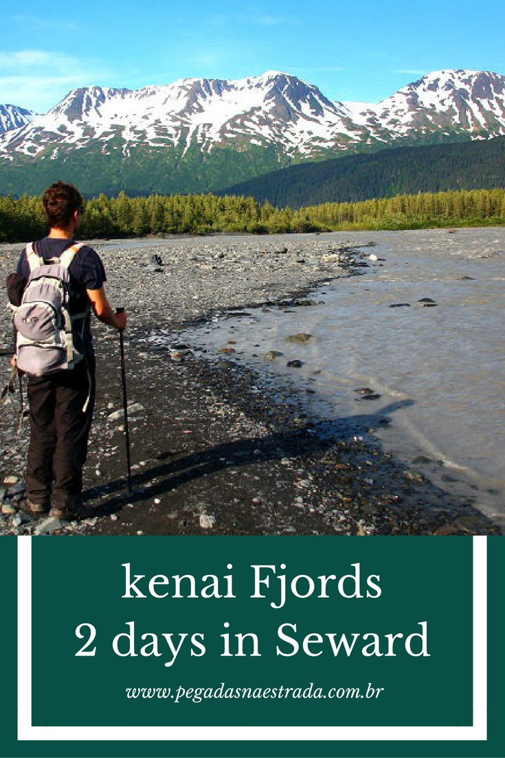 Guide Kenai Fjords. 2 days in Seward, Alaska. Trails and sailing.