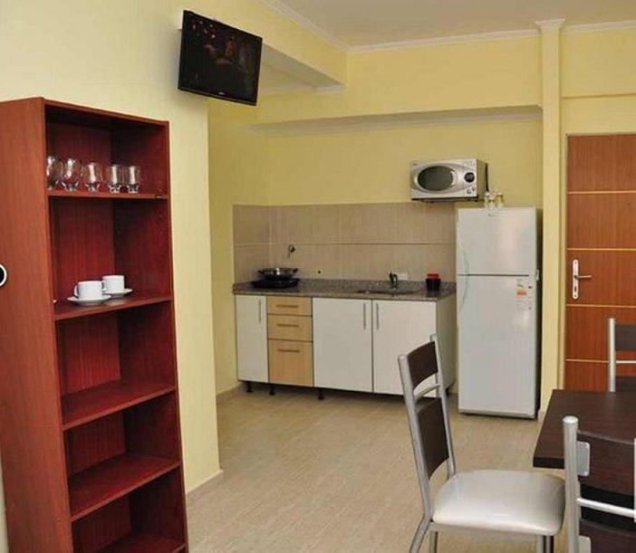 Quarto do hotel em Posadas. Foto: www.booking.com