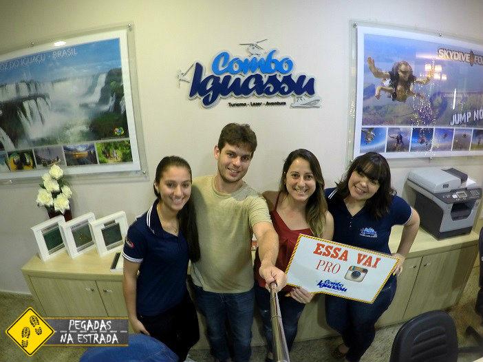 Agência de Turismo Combo Iguassu, dentro do hotel Best Western Tarobá. Foto: RMA / Blog Pegadas na Estrada
