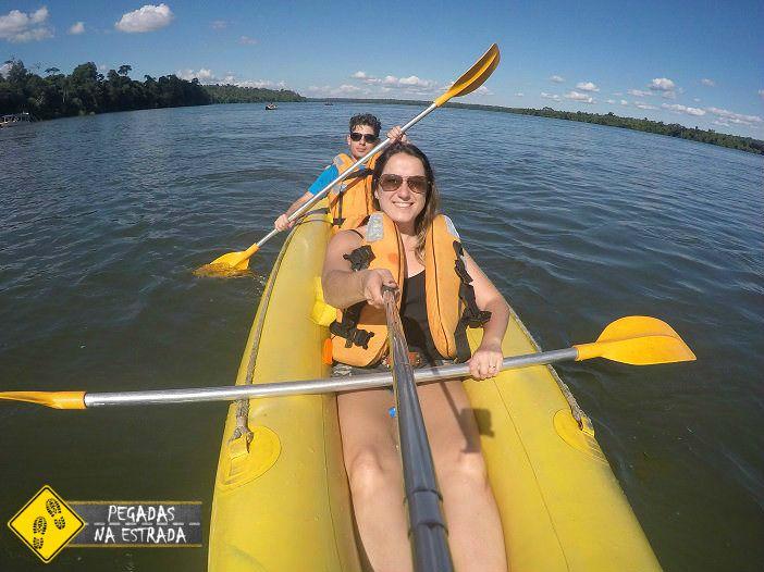 Caiaque aventura Foz do Iguaçu