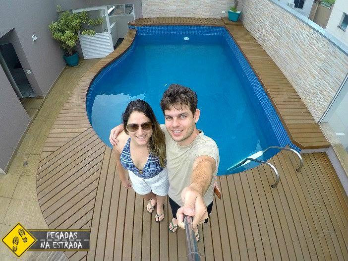 Piscina do hotel Best Western Tarobá em Foz do Iguaçu